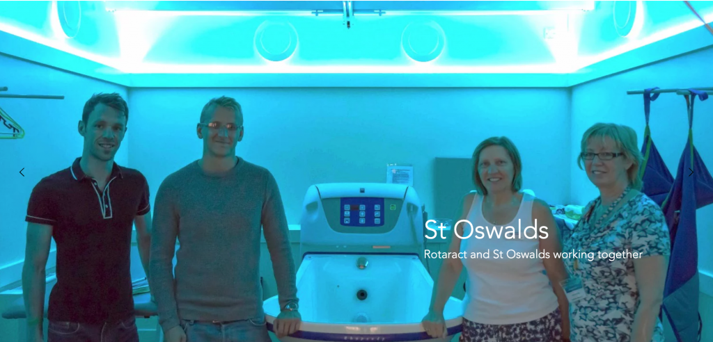 Working with St Oswald's